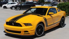2013 Ford Mustang Boss Wallpaper HD For Mobile