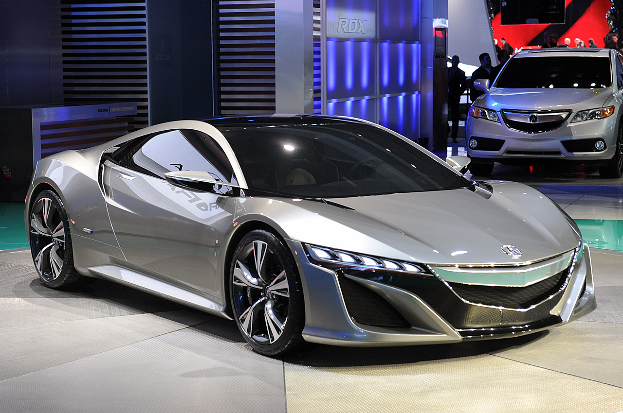 Acura NSX Concept Detroid Screensavers For Mac