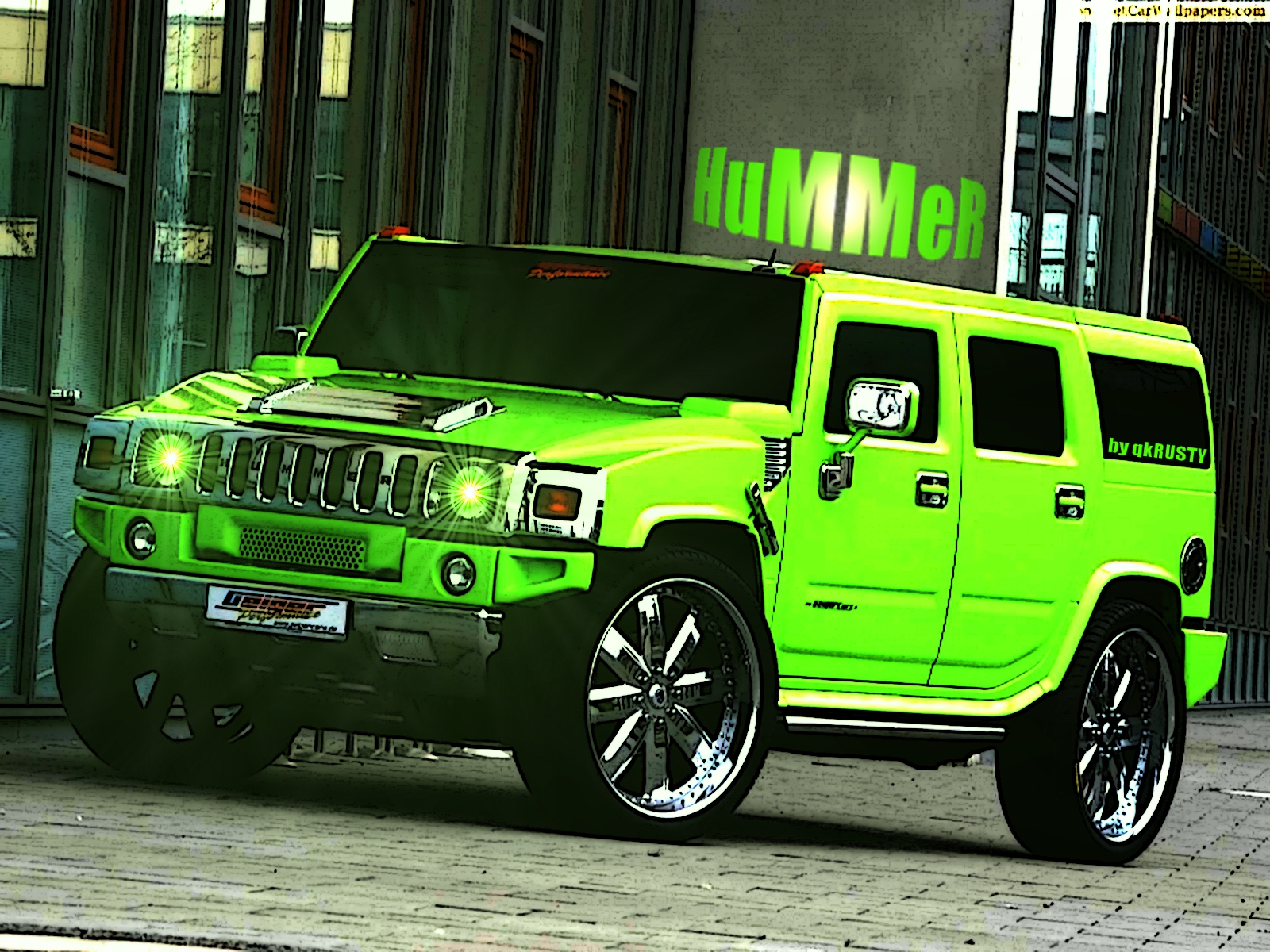 Hummer H2 2013 Wallpaper Free For PC