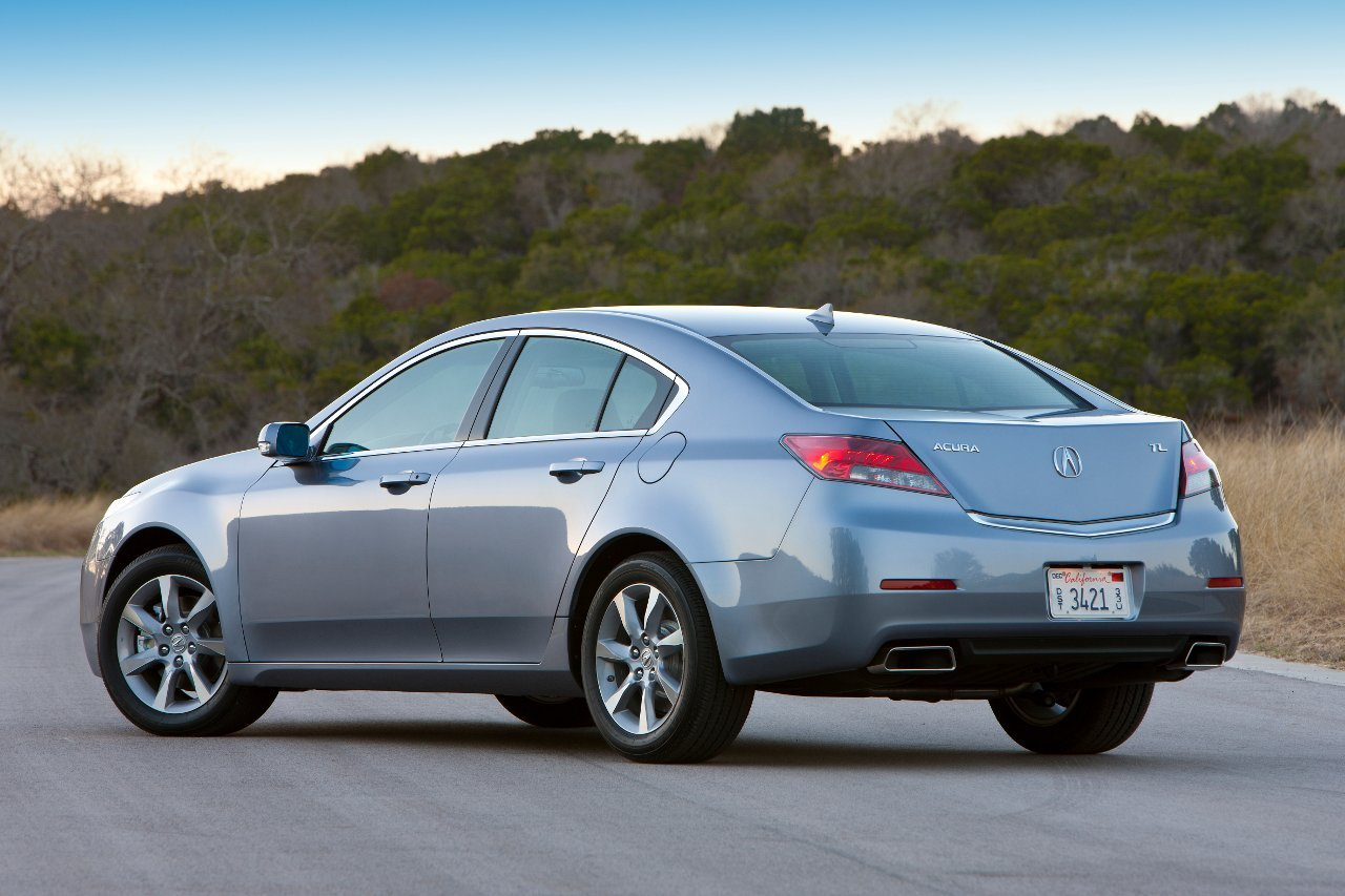 2012 Acura TL Screensavers For Windows Wallpaper