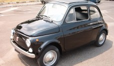 1965 Black Fiat 500 Wallpaper HD For Mac