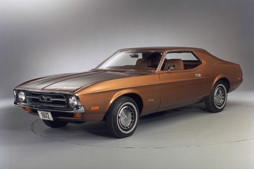 1972 Ford Mustang Brown Backgrounds HD