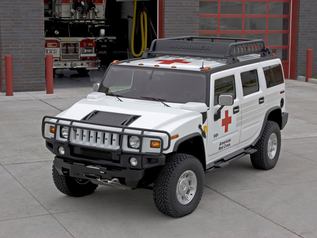2005 Hummer H2 ARC Emergency Response Vehicle Desktop Wallpaper Free