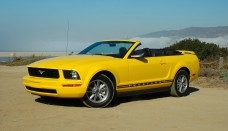2005 Ford Mustang V6 Convertible Wallpaper Download