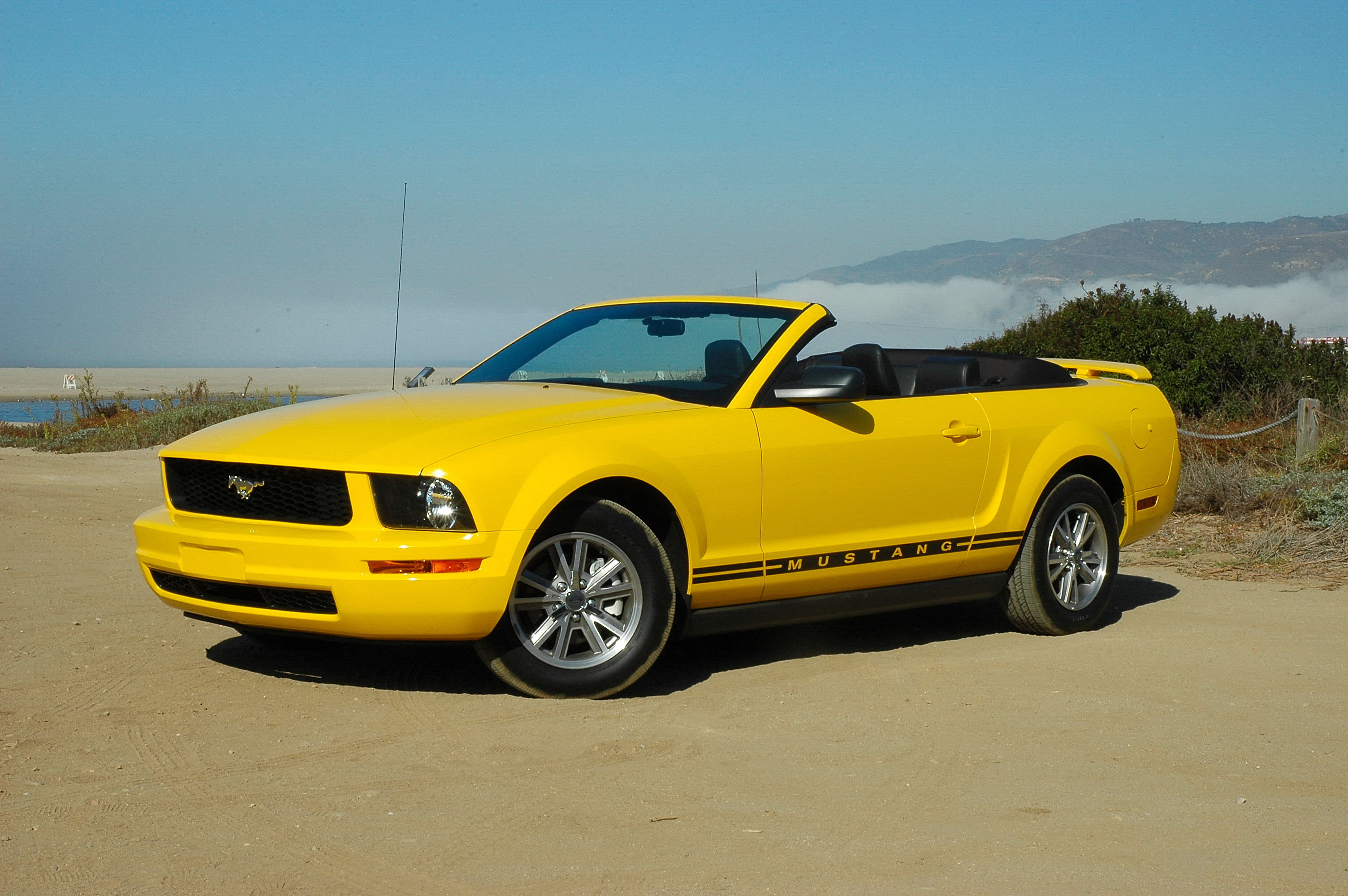 2005 ford mustang v6 convertible wallpaper dow 858 wallpaper. Black Bedroom Furniture Sets. Home Design Ideas