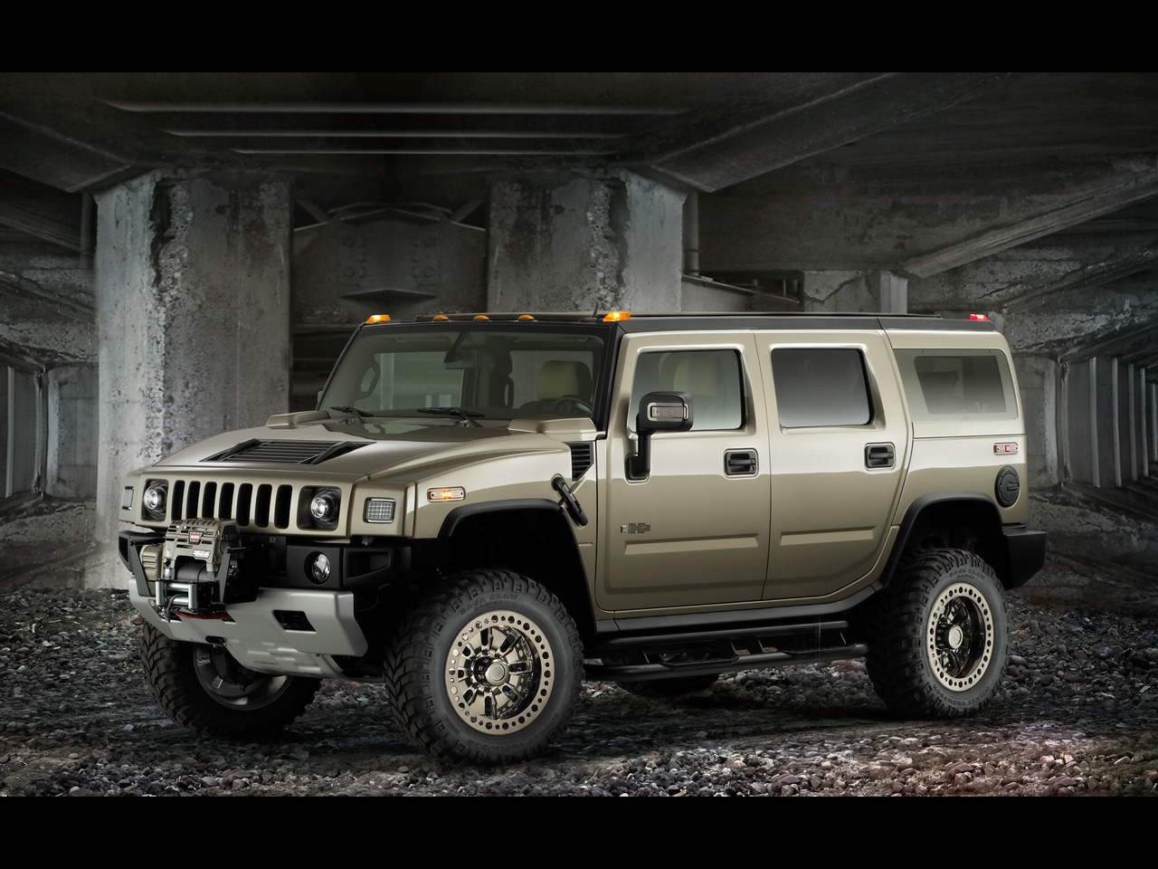 2007 Hummer H2 Free Wallpaper For Android