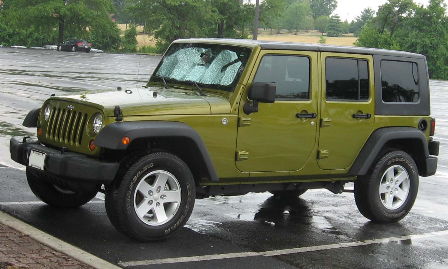 2007 Jeep Wrangler Unlimited Wallpaper For Free