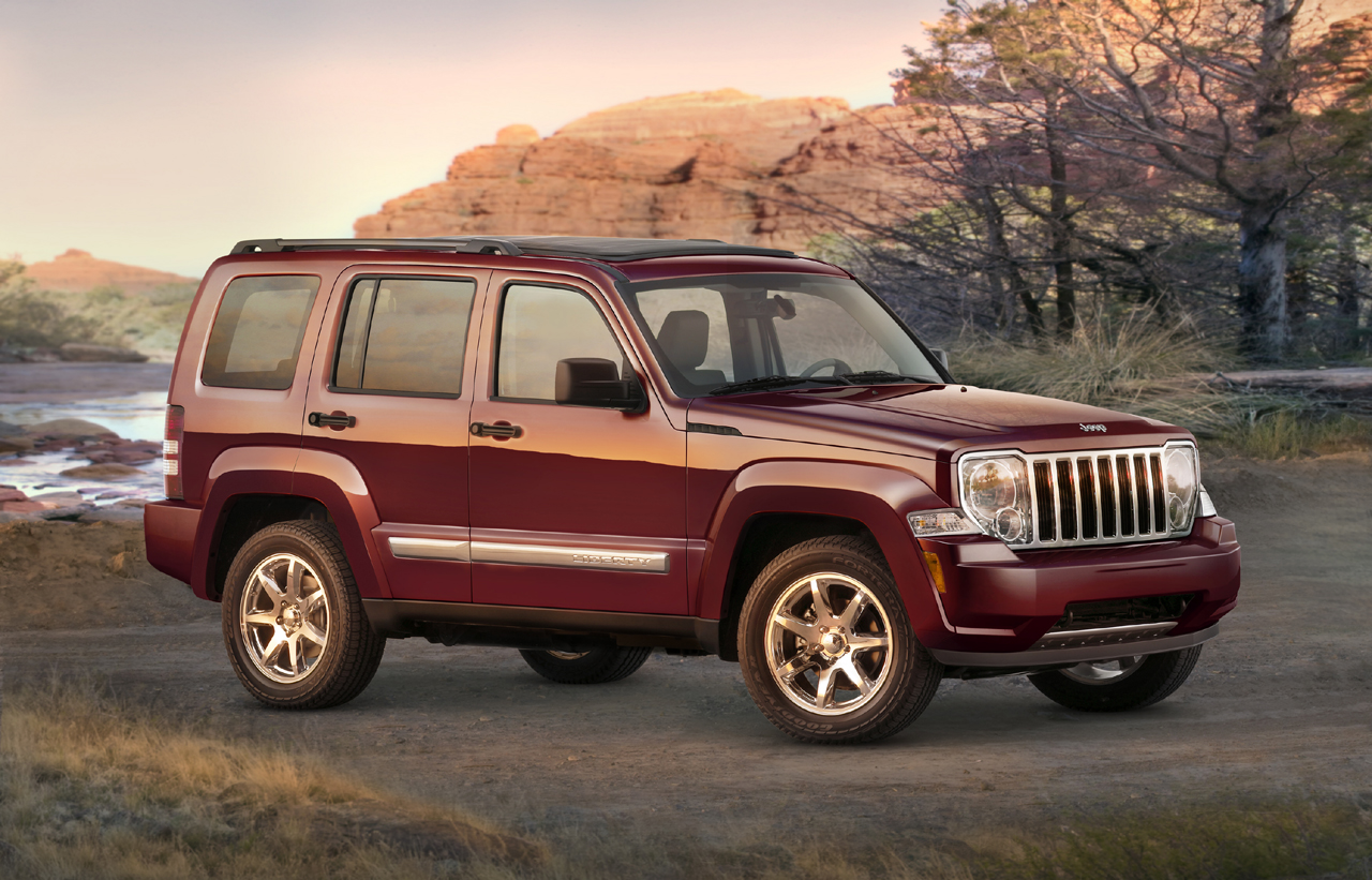 2008 Jeep Liberty Wallpaper For Free Download