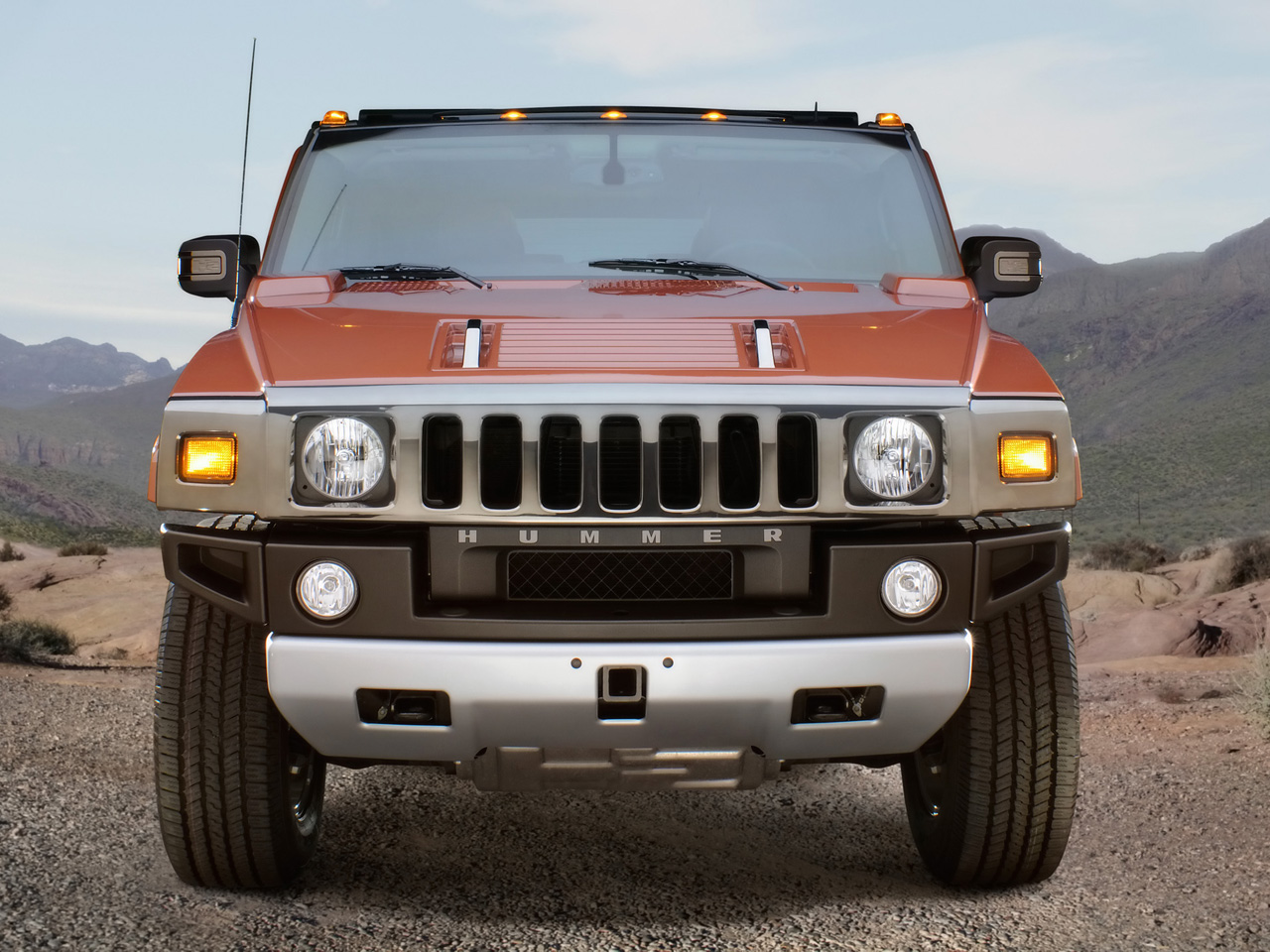 2009 Hummer H2 Backgrounds HD