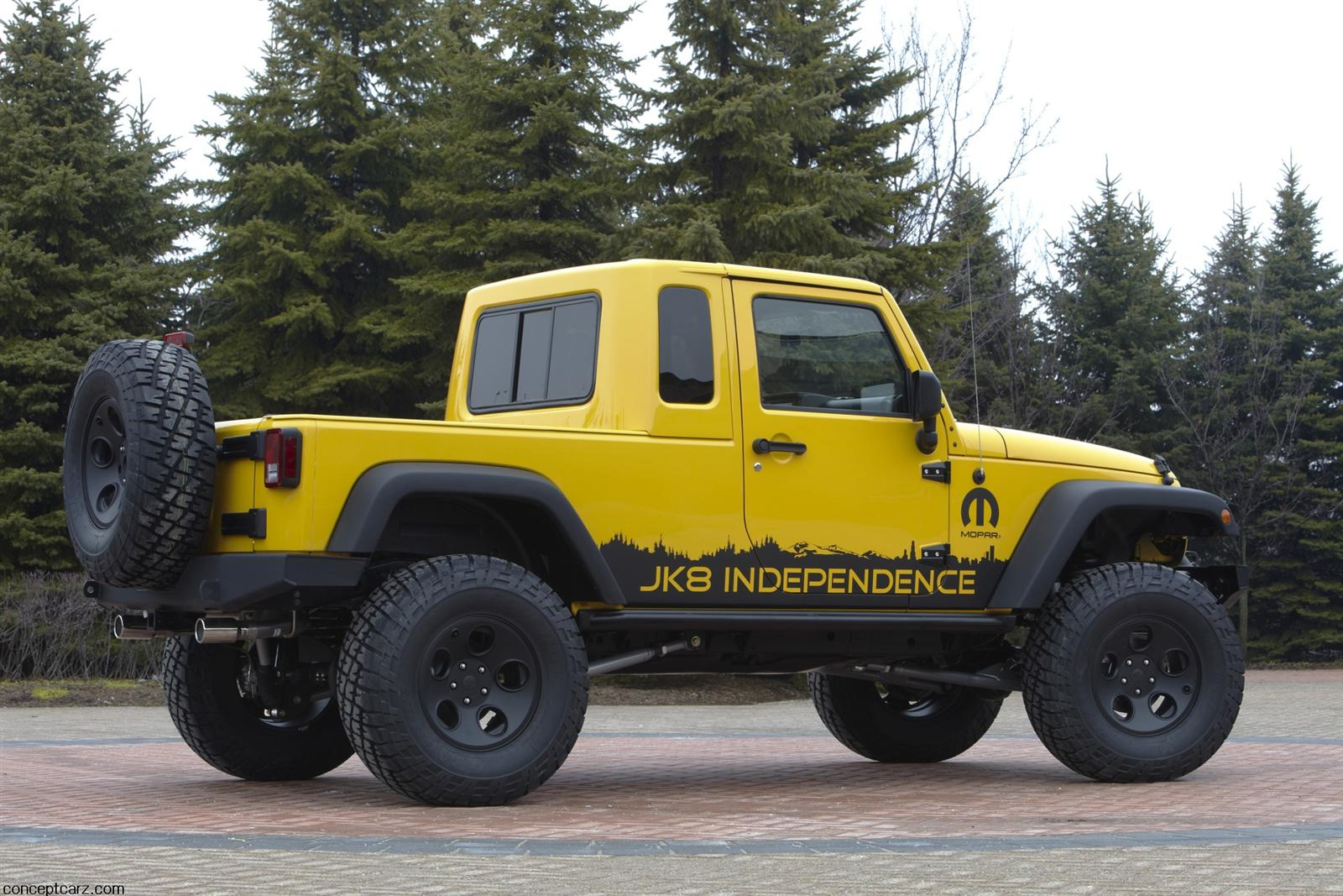 2011 Jeep JK 8 Independence Desktop Wallpaper Free