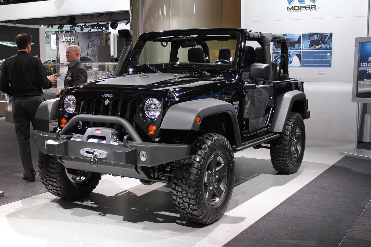 2012 Jeep Wrangler Black Edition Wallpaper For Ipad
