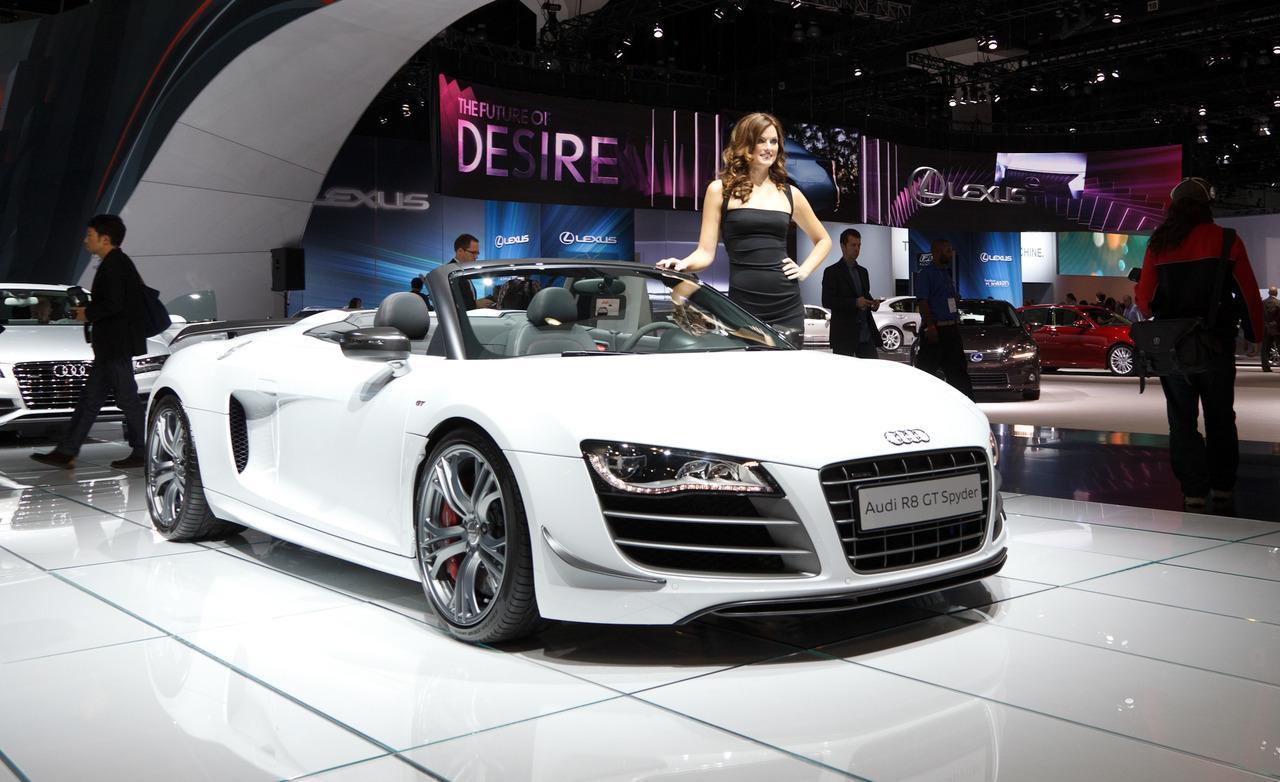 2012 Audi R8 GT Spyder Wallpaper For Free