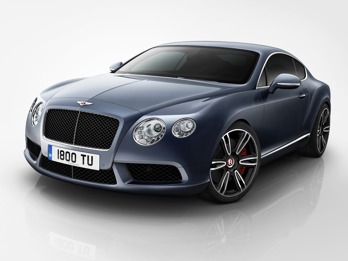 2012 Bentley Continental GT V8 Engine Wallpaper For Free Download
