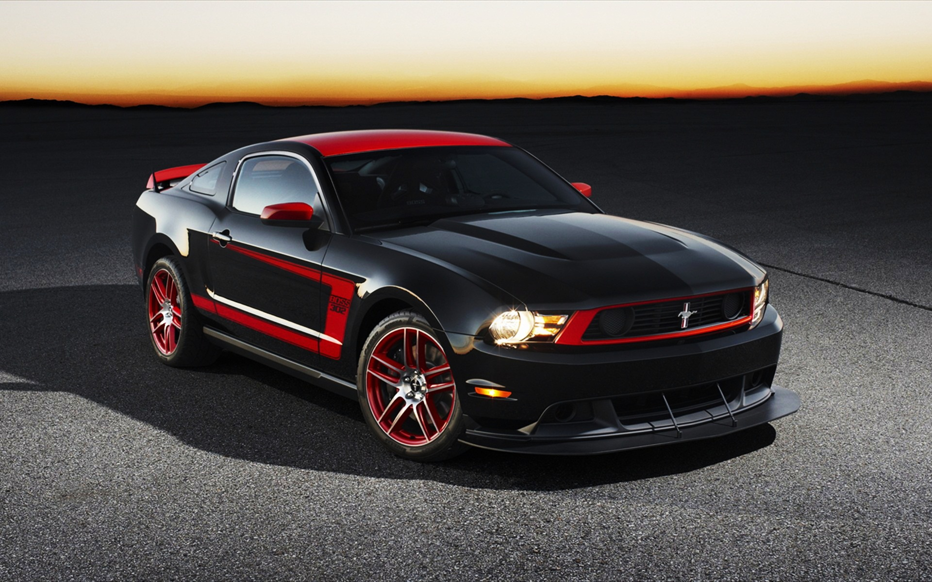 2012 Ford Mustang Boss Desktop Backgrounds Free
