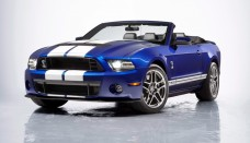 2013 Ford Mustang Shelby GT500 Convertible Wallpaper For Background