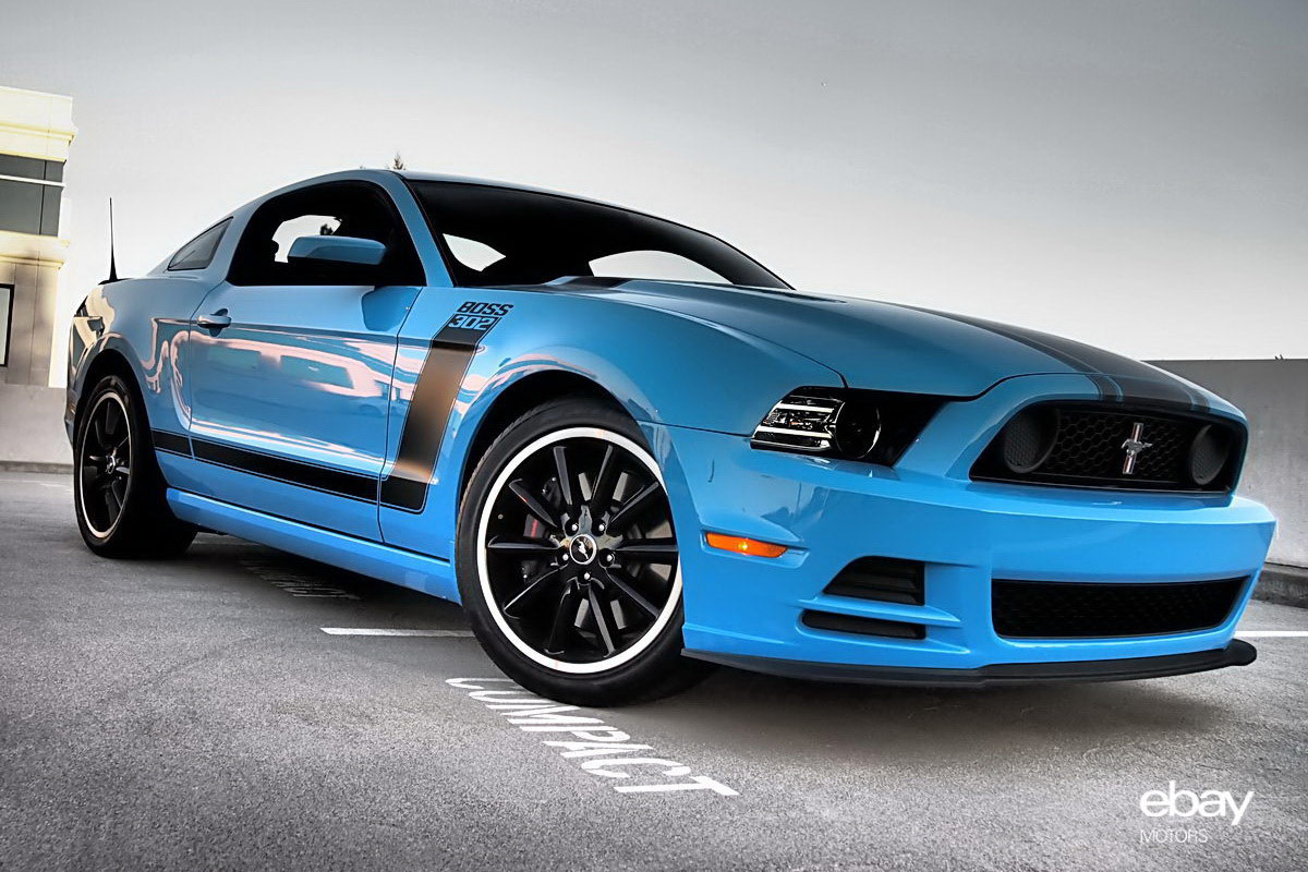 2013 Ford Mustang Boss Wallpaper For Phone