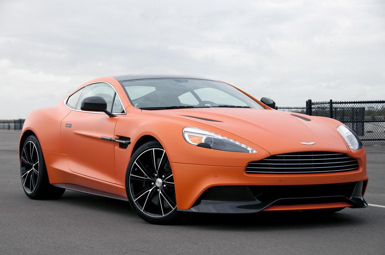 2014 Aston Martin Vanquish Wallpaper For Free