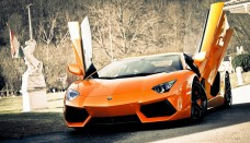 2014 Lamborghini Aventador Sports Cars Backgrounds HD Free