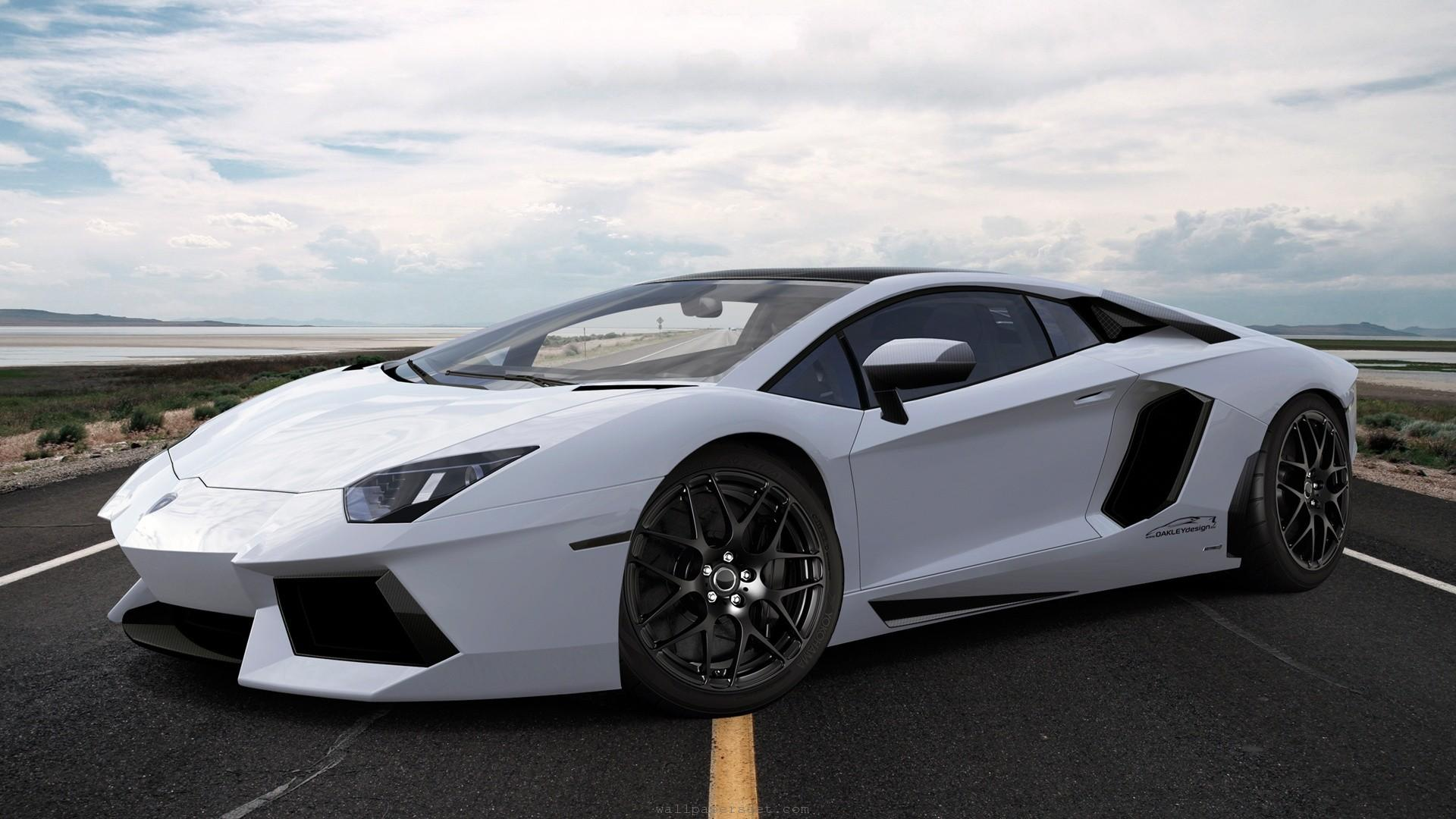 Lamborghini Aventador White 2014 Wallpaper Free For Android