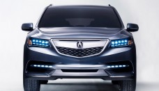 2014 Acura MDX Prototype Wallpaper Free For Tablet