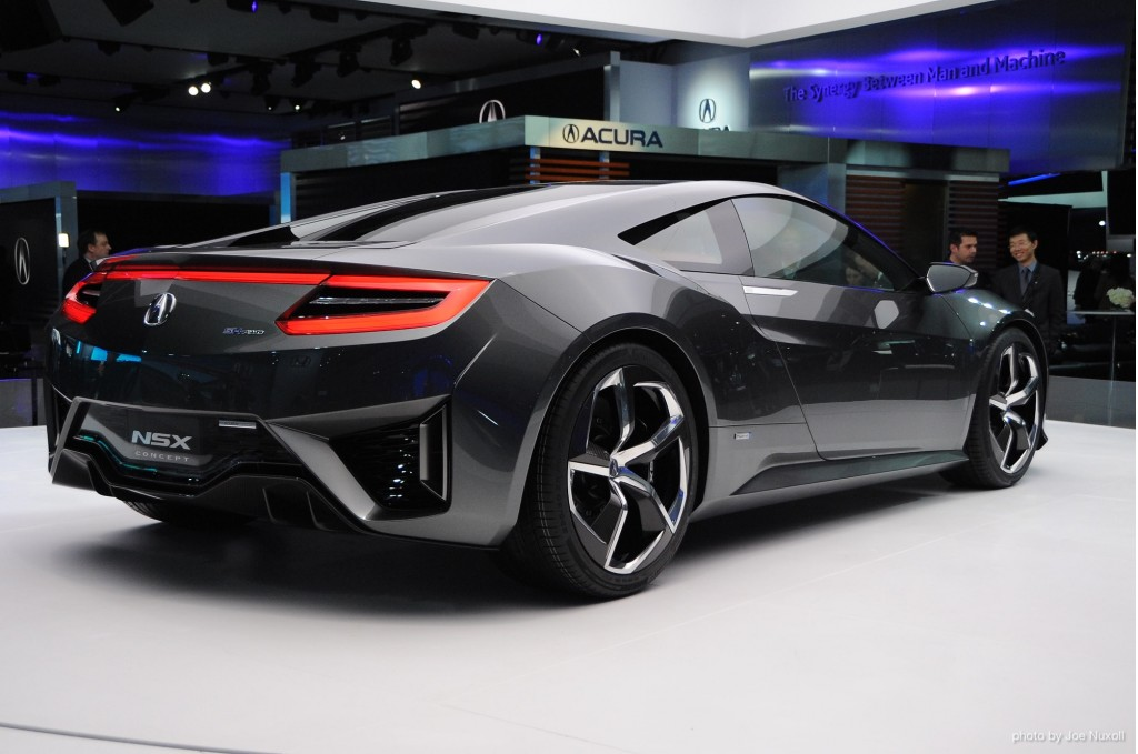 Acura NSX Concept Live 2013 Background Images