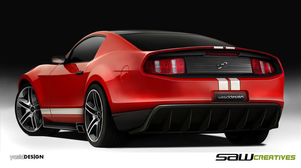 2014 Ford Mustang Concept Wallpaper Free For Windows