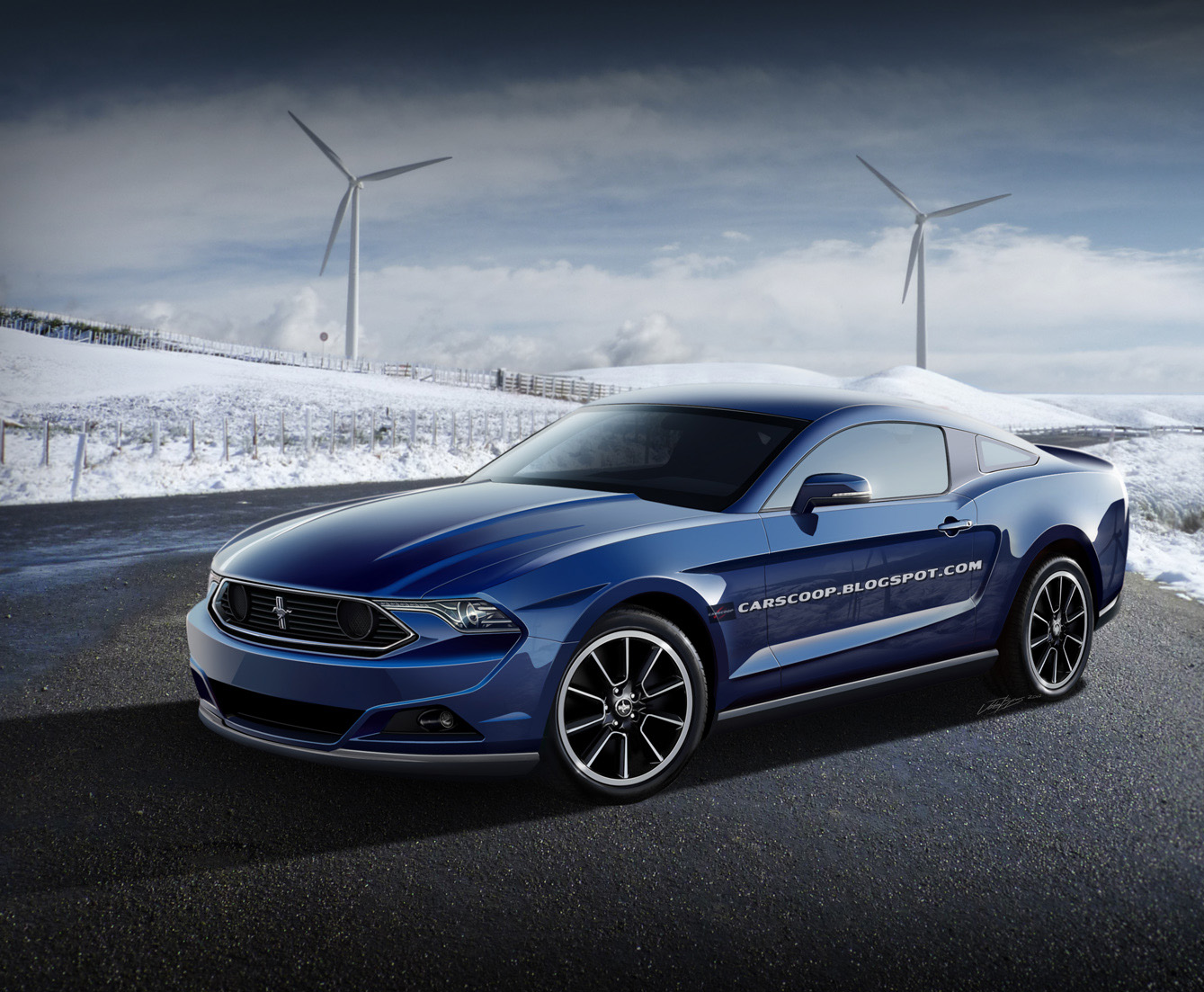 2015 Ford Mustang GT Concept High Resolution Wallpaper Free