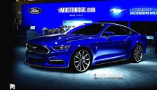 2015 Ford Mustang Rendering Wallpaper Free For Desktop