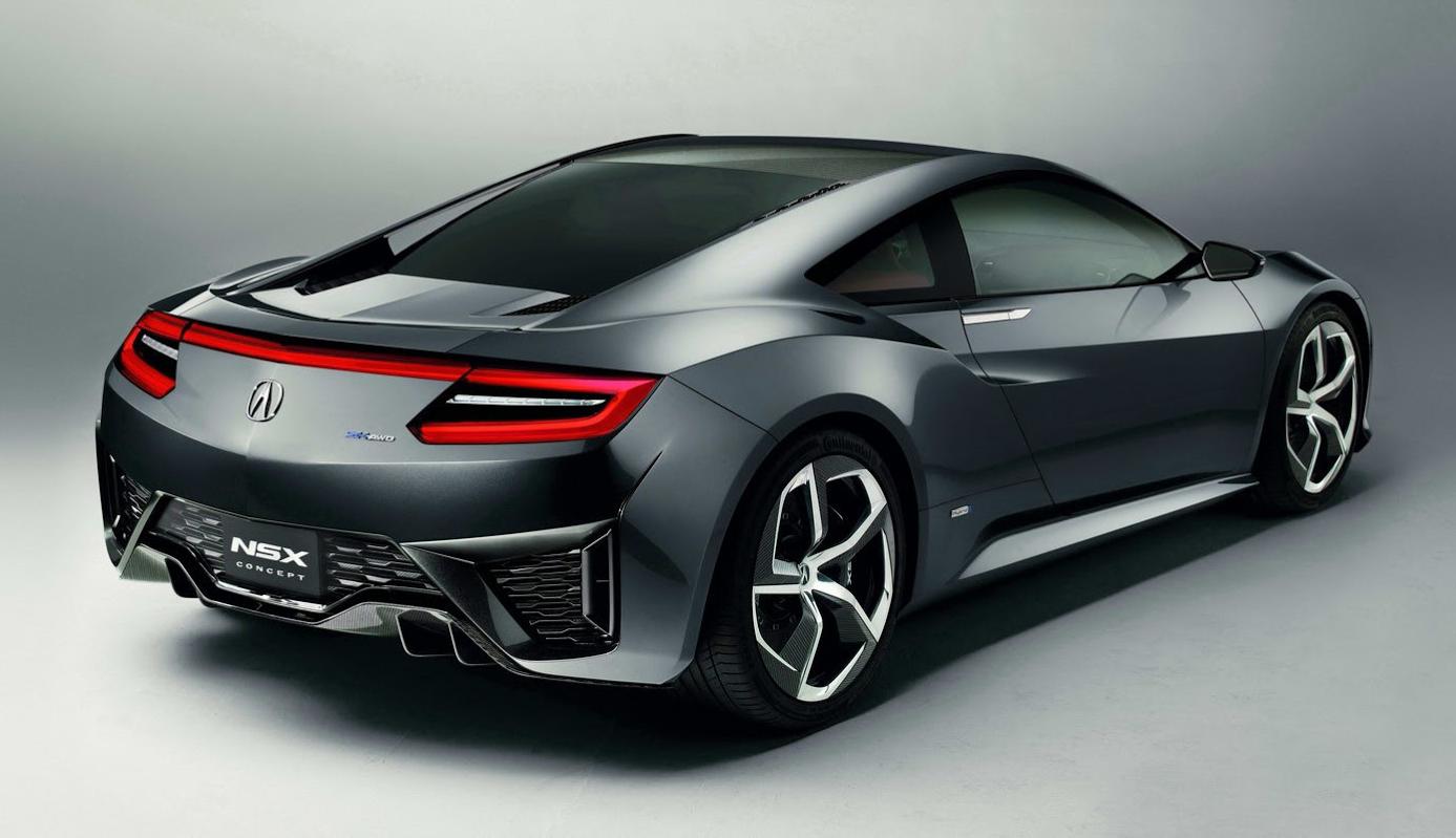 2015 honda Acura NSX Concept High Resolution Wallpaper Free