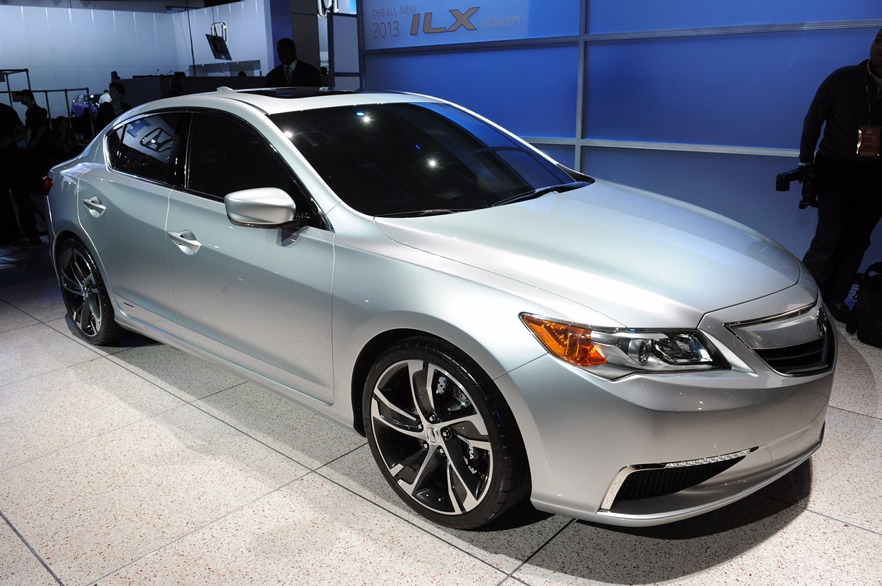 Acura ILX Concept Background For Ipad