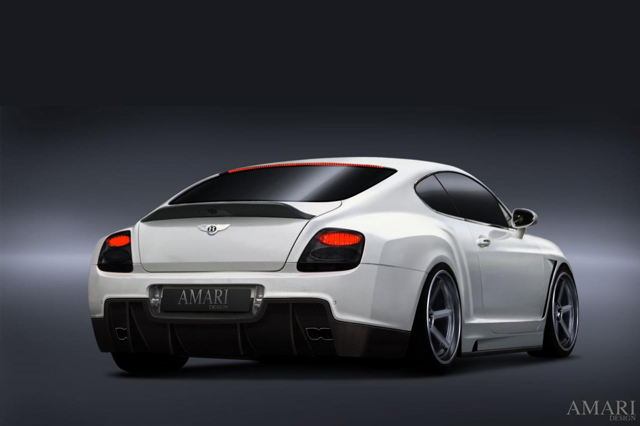 Amari Design Bentley Continental GT Wallpaper HD For Desktop