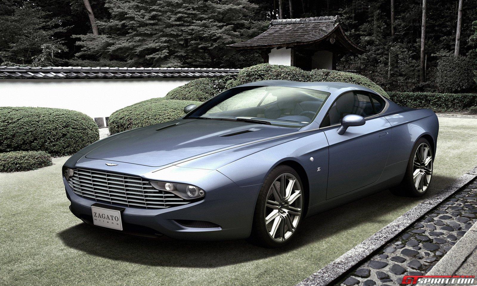 Aston Martin DBS Zagato Wallpaper HD