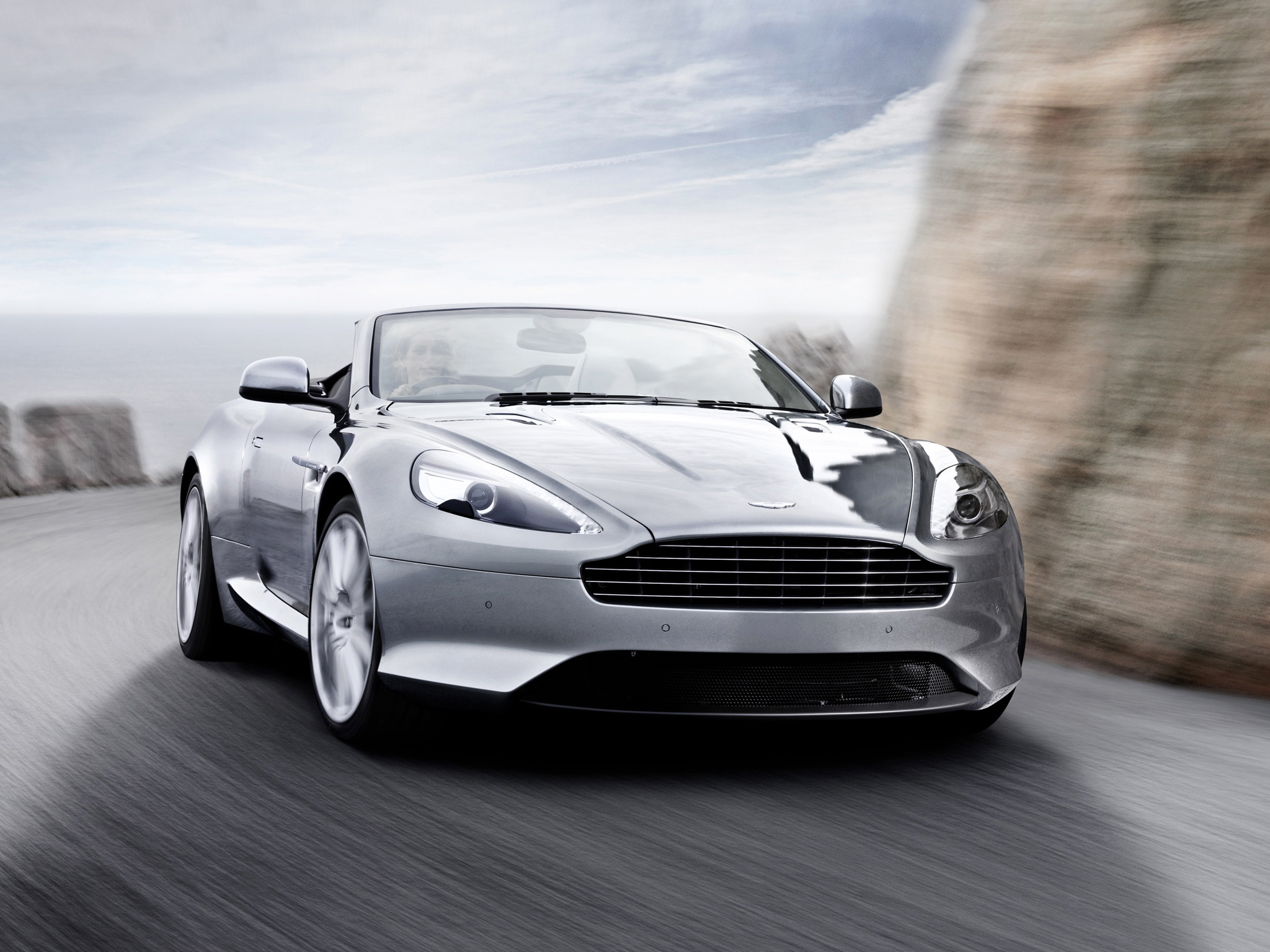 Aston Martin Virage Volante 2011–2012 Wallpaper For Computer
