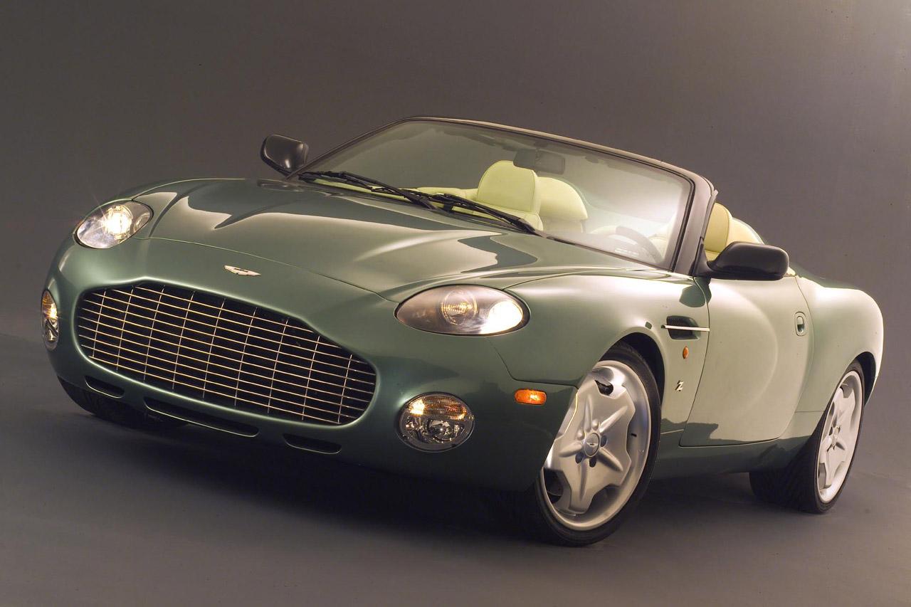 Aston Martin Zagato DB AR1 Screensavers For Ipad