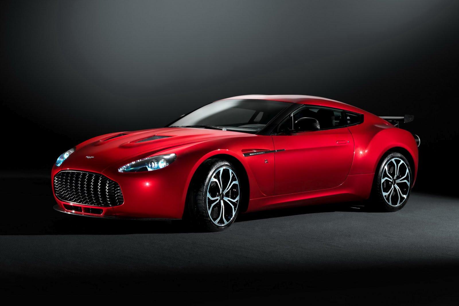 Aston Martin V12 Zagato Wallpaper HD 1080p