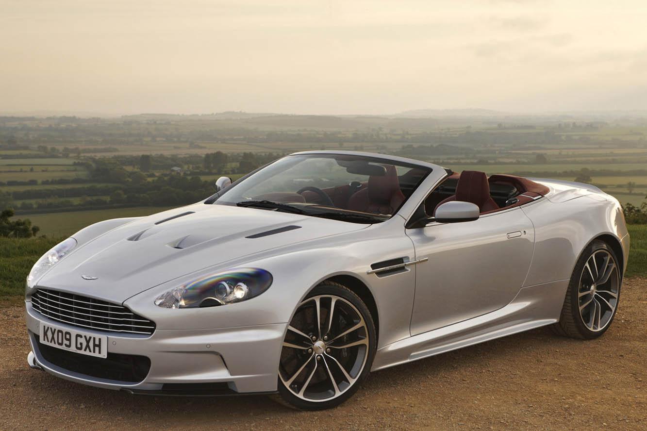 Aston Martin DBS Volante Wallpaper For Phone