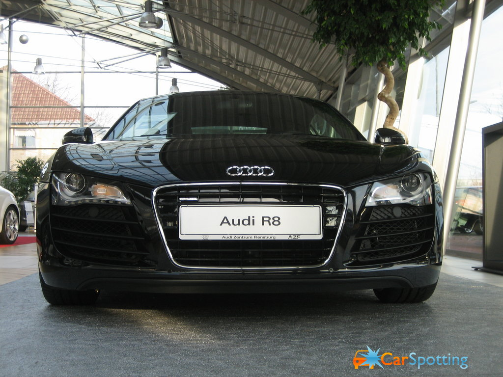 Audi R8 Black Wallpaper Gallery