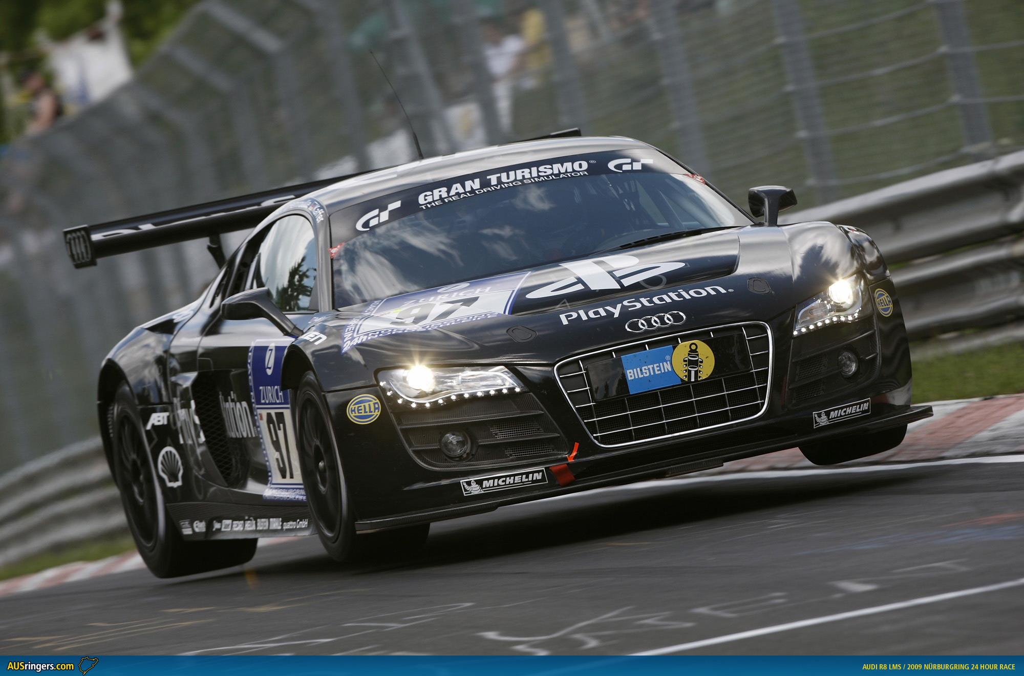 Audi R8 LMS Desktop Wallpaper Free