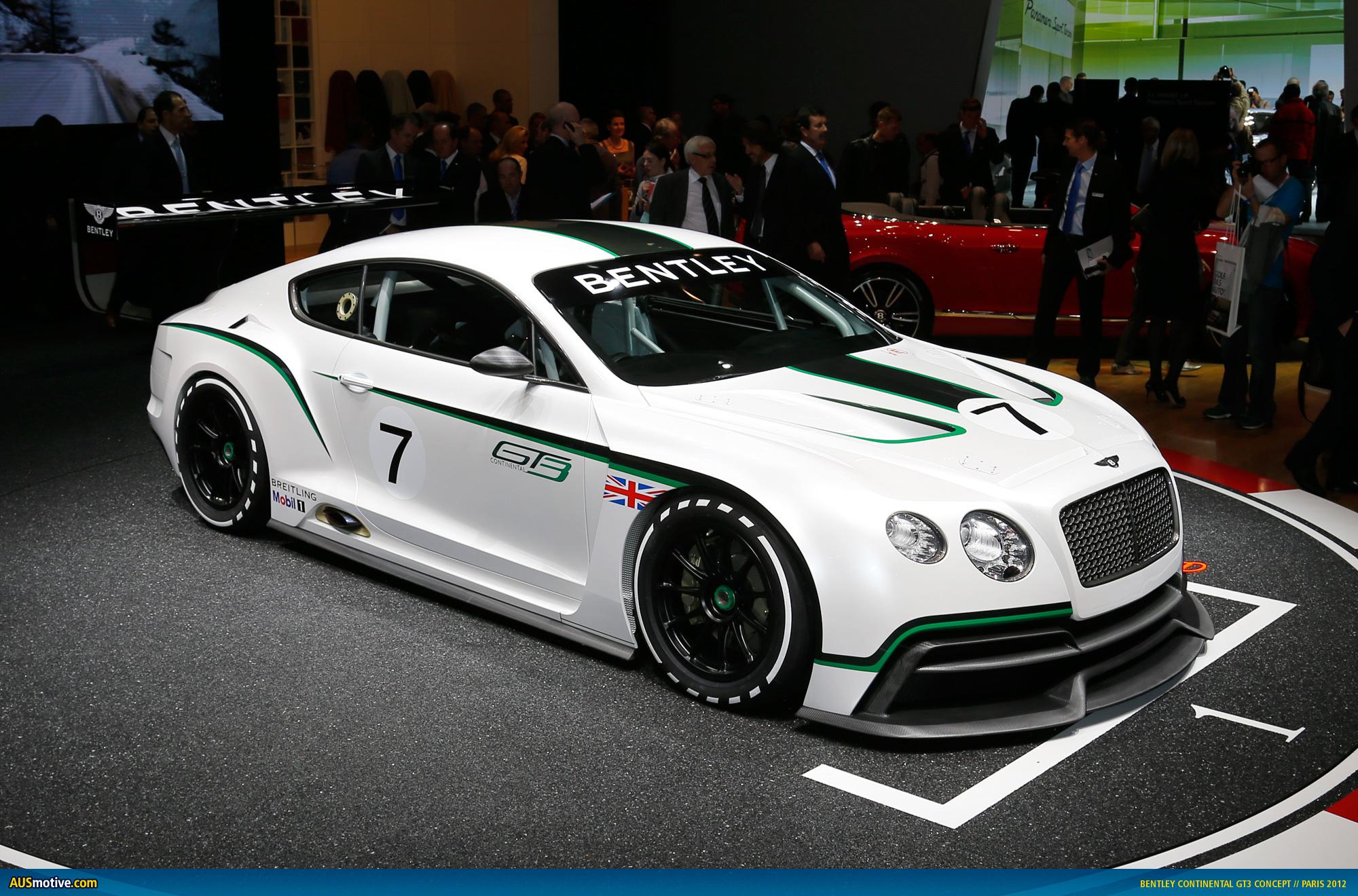 Bentley Continental GT3 Concept Desktop Computers