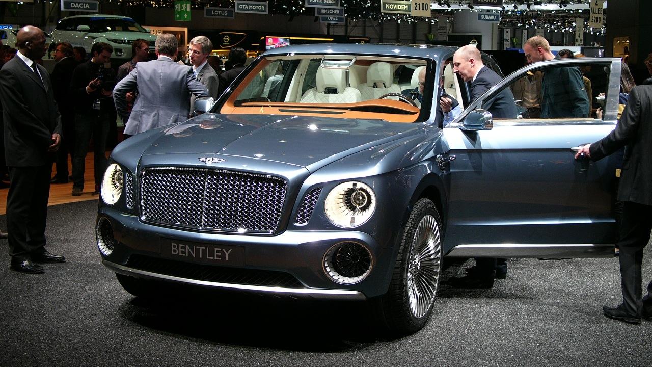Bentley EXP 9F Desktop Wallpaper Free