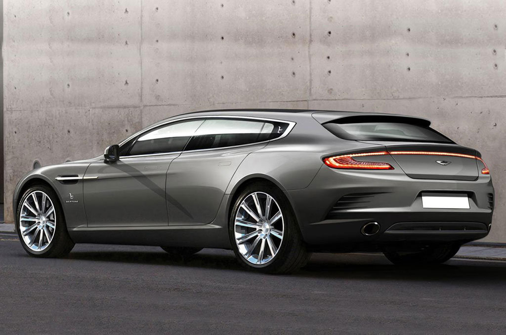 Bertone Aston Martin Rapide Background For Free Download