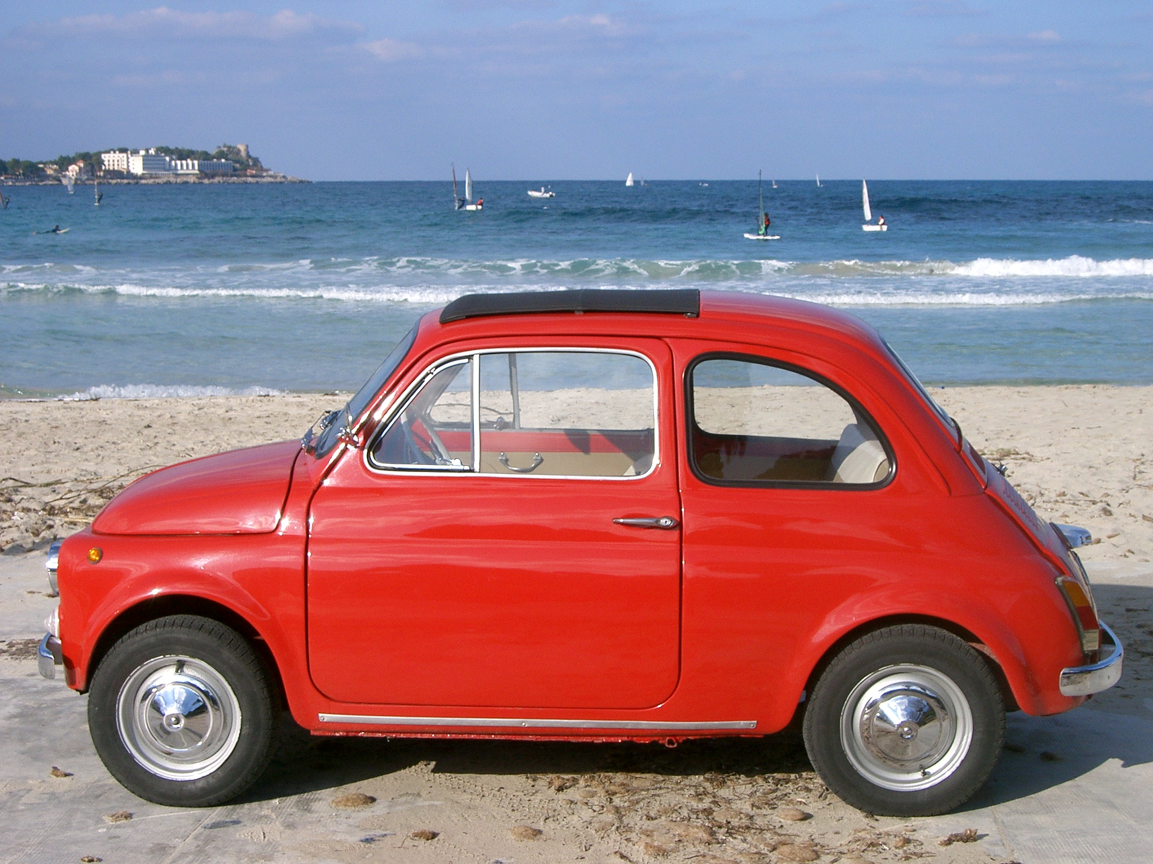 Fiat 500 F 1966 Background Images