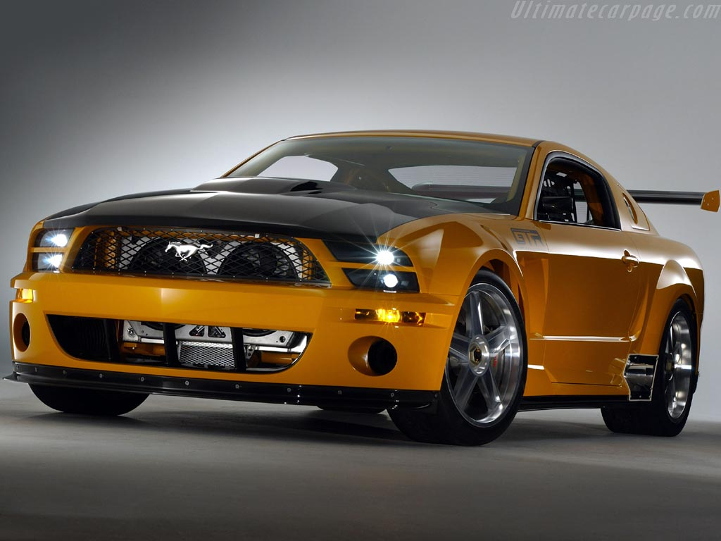 Ford Mustang GT-R Concept Wallpaper Free For Desktop