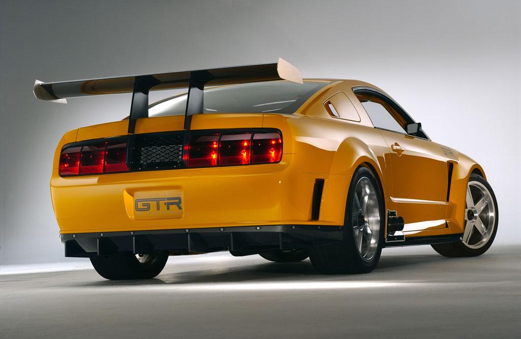 Ford Mustang GT-R 2005 Free Wallpaper For Desktop Wallpaper