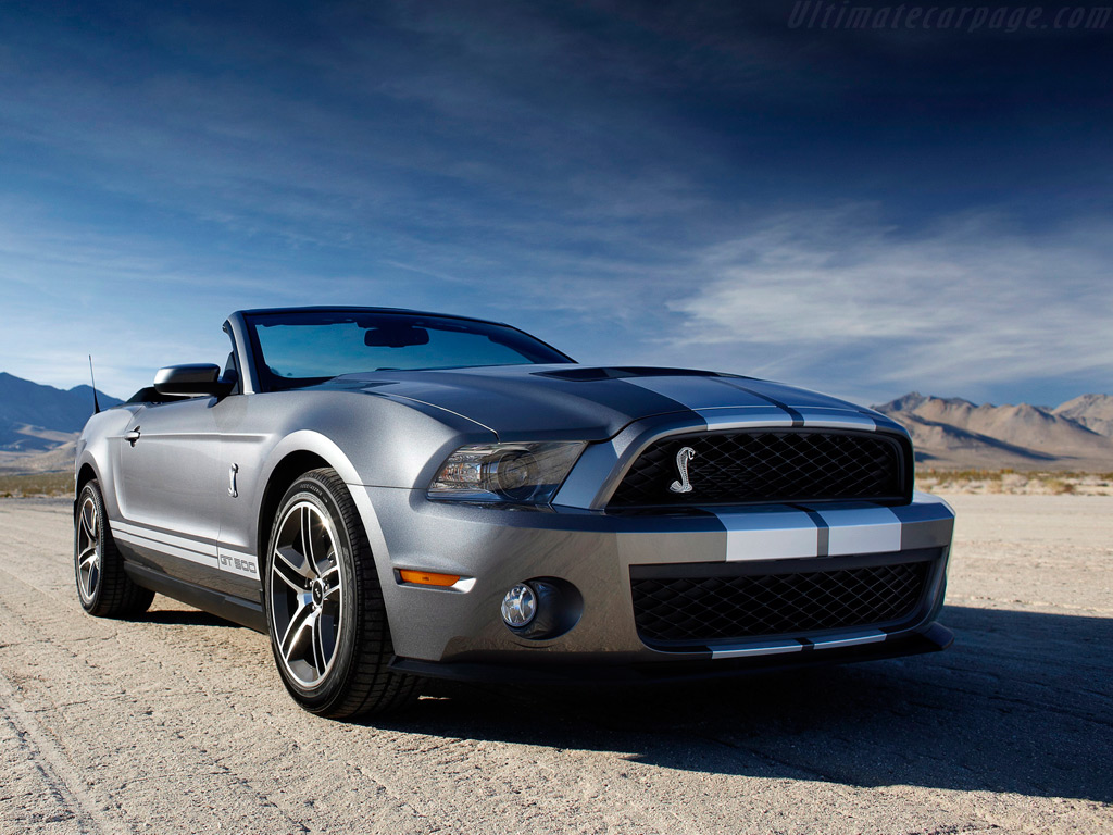 Ford Shelby Mustang GT500 Convertible Wallpaper Free For Windows