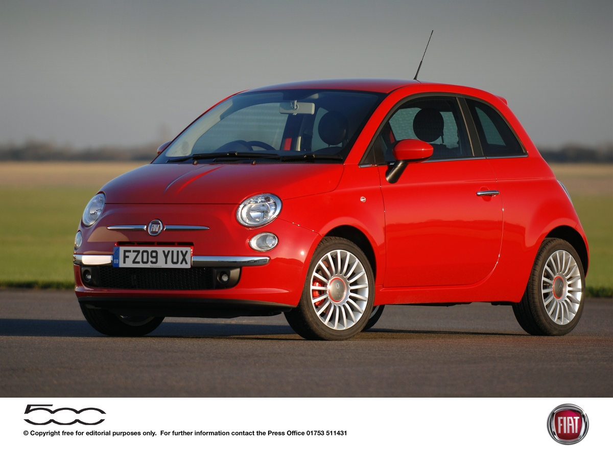 2012 Fiat 500 Sport Hatchback Desktop Computers Free