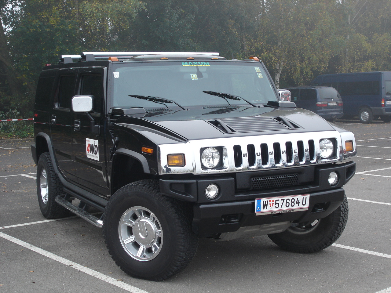 Hummer H2 Frontansicht Wallpaper Free For Computer