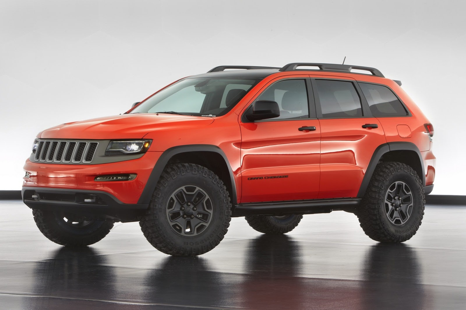 Jeep Grand Cherokee Trailhawk Diesel Moab Concept Wallpaper HD For Mac
