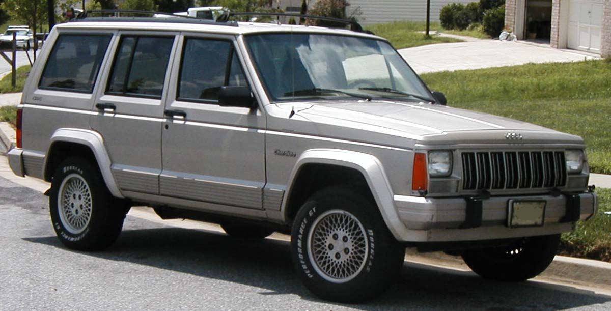 Jeep Cherokee XJ Background For Free