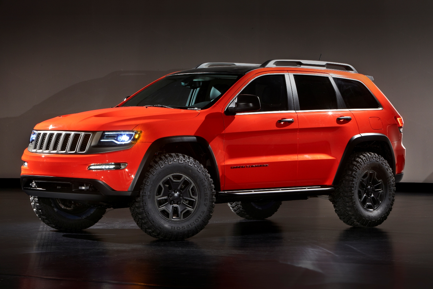Jeep Grand Cherokee Trailhawk Concept Wallpaper Free For Phone